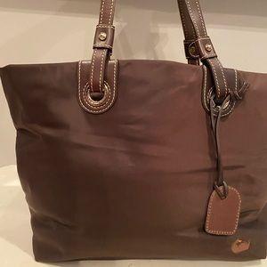 Dooney & bourke nylon Victoria tote handbag